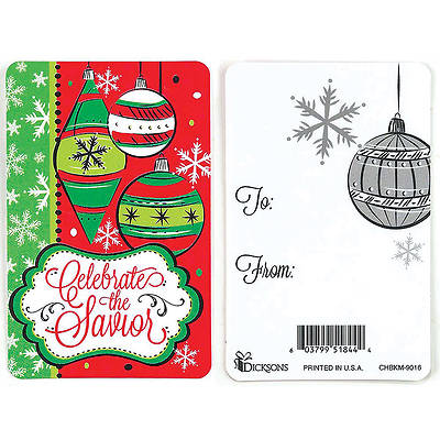 Picture of Celebrate the Savior Pocket Card - 12 Pack