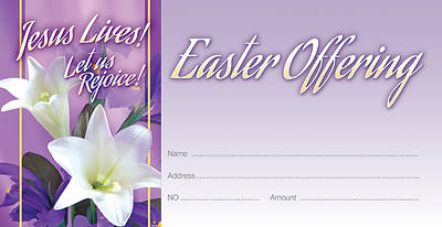 Jesus Lives Easter Offering Envelope