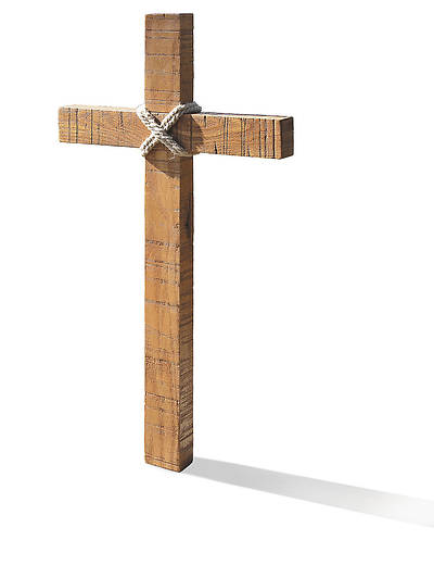 Old Rugged Hanging Cross