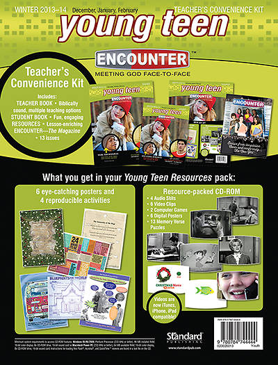 Standard Encounter Young Teen Teachers Kit Winter 2013-2014