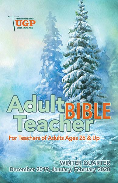 Picture of Union Gospel Adult Bible Teacher Winter 2019-2020
