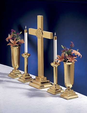 "Picture of Artistic Traditional 5 Piece 24"" Altar Set"