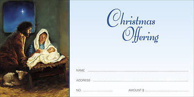 For Unto Us a Child is Born Christmas Offering Envelope (Package of 100)
