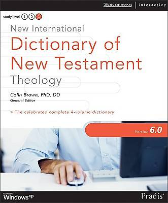 New International Dictionary of New Testament Theology 6.0 for Windows