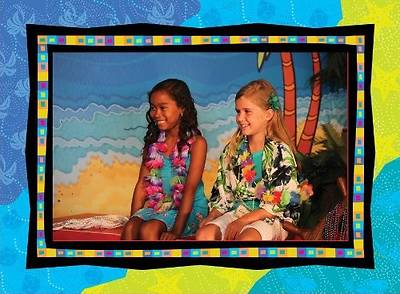 Gospel Light VBS 2014 SonTreasure Island Photo Frames 12 pack