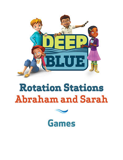 Picture of Deep Blue Rotation Station: Abraham and Sarah - Games Station Download