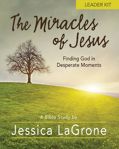 Picture of The Miracles of Jesus - Women's Bible Study Leader Kit