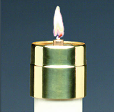 Brass Follower for Elite Lite Disposable Liquid Candle 1 1/8""