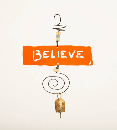 Believe Horizontal Inspiration Chime