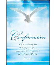 Confirmation Dove Bulletin, Regular (Package of 100)