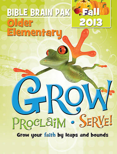 Picture of Grow, Proclaim, Serve! Older Elementary Bible Brain Pak Fall 2013