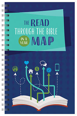 Picture of The Daily Bible Reading Map (General)