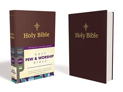 Picture of NRSV Pew and Worship Bible, Hardcover, Burgundy, Comfort Print