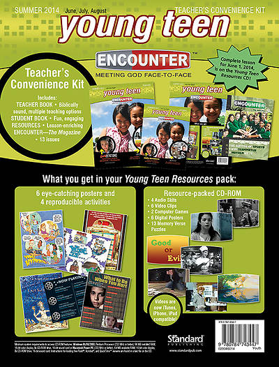 Standard Encounter Young Teen Teacher Kit Summer 2014