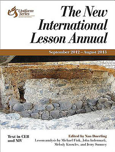 The New International Lesson Annual 2012-2013 - eBook [ePub]