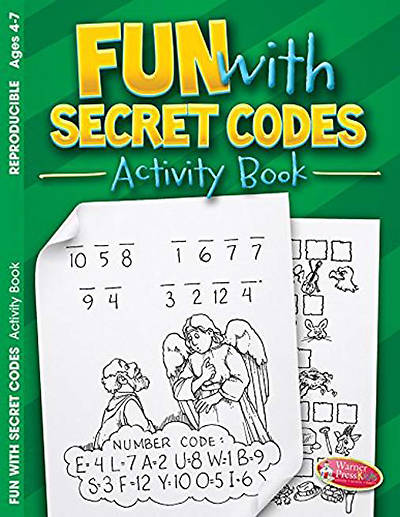 Coloring/Activity Book 4-7 Fun with Secret Codes