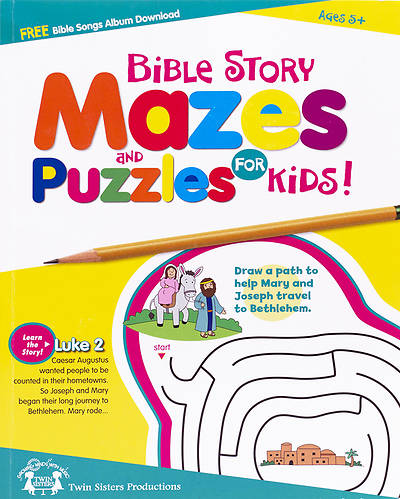 Bible Story Mazes and Puzzles for Kids!
