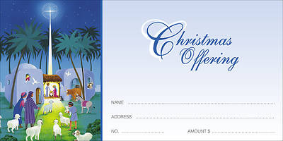 You Will Find a Babe Christmas Offering Envelope (Package of 100)