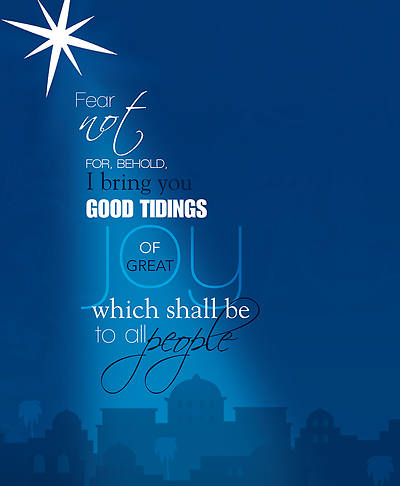 Picture of Good Tidings of Great Joy Christmas Legal Size Bulletin