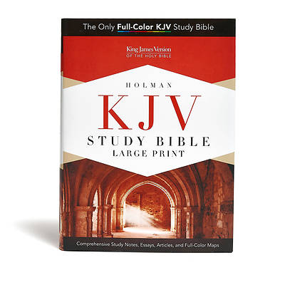 Picture of KJV Study Bible Large Print Edition