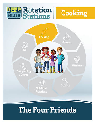 Deep Blue Rotation Station: The Four Friends - Cooking Station Download