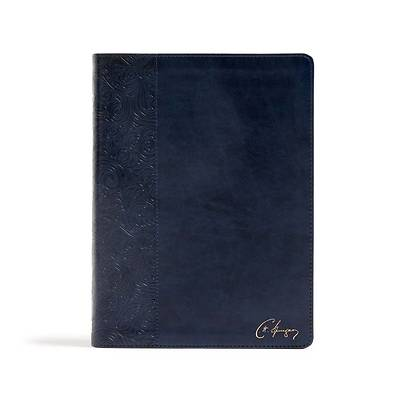 Picture of CSB Spurgeon Study Bible, Navy Leathertouch