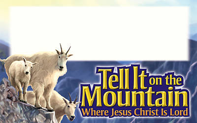 Concordia Vacation Bible School 2013 Tell It On The Mountian Expeditions Name Tags (pkg of 10)