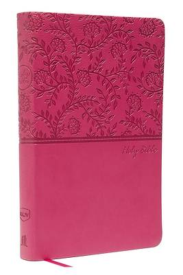 NKJV, Value Thinline Bible, Standard Print, Imitation Leather, Pink, Red Letter Edition