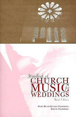 Picture of Handbook of Church Music for Weddings