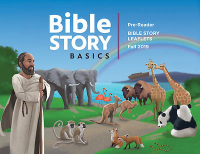 Picture of Bible Story Basics Pre-Readers Leaflets Fall 2019