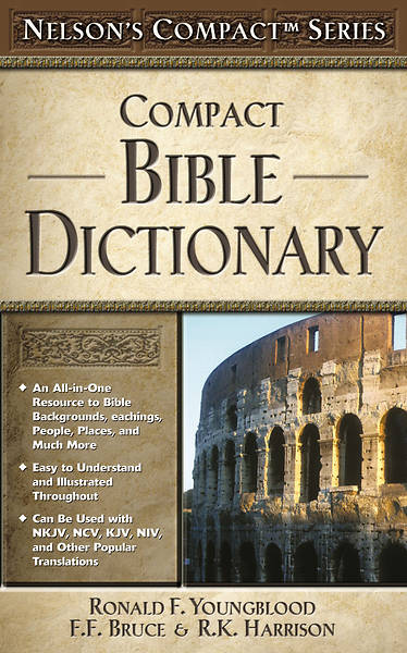 Nelsons Compact Series: Compact Bible Dictionary