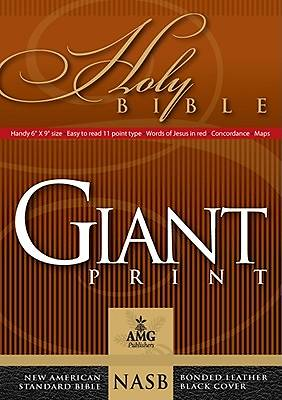 Picture of New American Standard Bible Giant Print Handy-Size Bible
