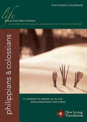 Picture of Life Application Bible Study - Philippians/Colossians