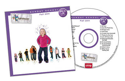 Picture of FaithWeaver Pre K & K Additional CD