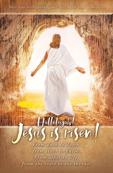 Picture of Jesus is Risen Easter Regular Size Bulletin