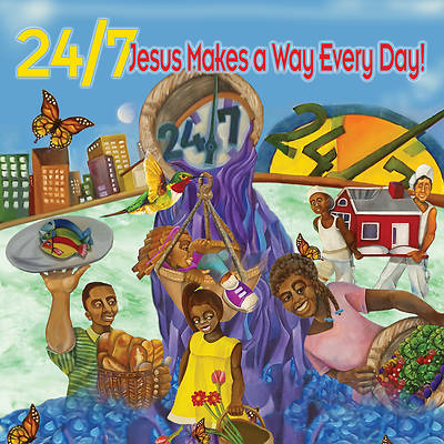 Vacation Bible School (VBS) 2018 24/7 Jesus Makes a Way Decorating Mural