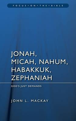 Picture of Jonah, Micah, Nahum, Habakkuk, and Zephaniah