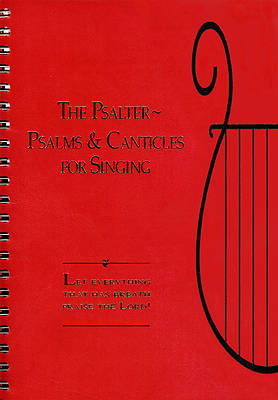 Picture of The Psalter - Psalms and Canticles for Singing