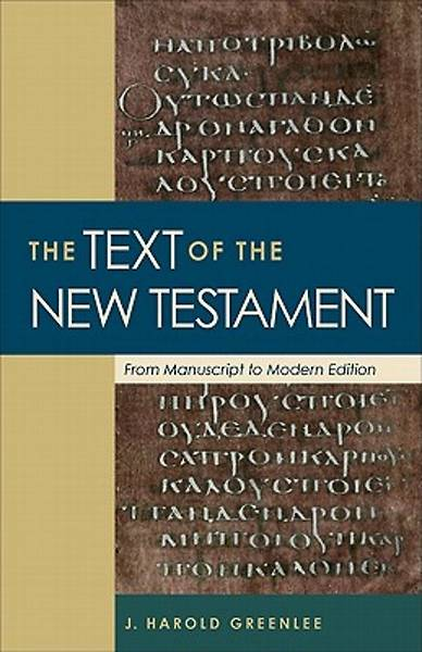 The Text of the New Testament [ePub Ebook]
