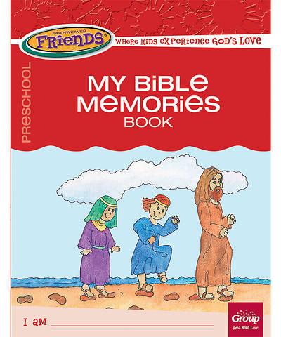 Picture of FaithWeaver Friends Preschool Student Book My Bible Memories, Fall 2017
