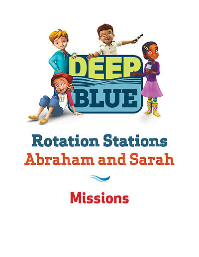 Picture of Deep Blue Rotation Station: Abraham and Sarah - Missions Station Download