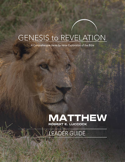 Picture of Genesis to Revelation: Matthew Leader Guide - eBook [ePub]