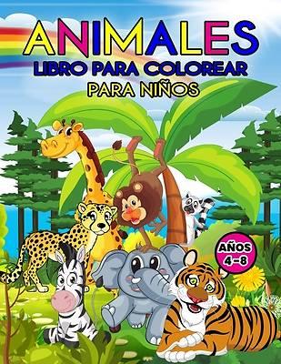 Picture of Animales Libro para Colorear para Niños Años 4-8