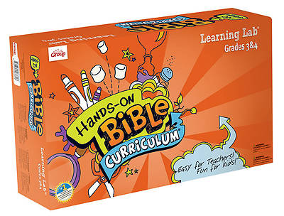 Picture of Group's Hands-On Bible Curriculum Grades 3 & 4 Learning Lab Summer 2012