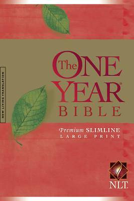 Tenth Anniversary One Year Bible Slimline Large Print Bible Hardcover