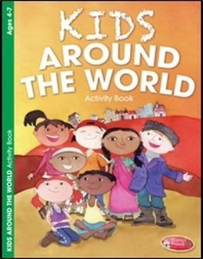 Kids Around the World Activity Book - 6 pack