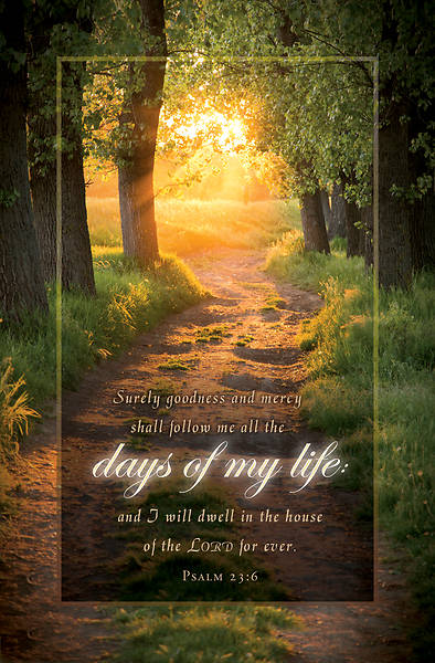 Days of My Life Funeral Regular Size Bulletin