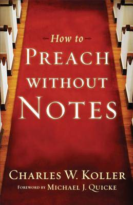 How to Preach without Notes [ePub Ebook]