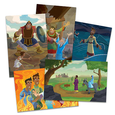 Picture of Vacation Bible School (VBS) 2020 Knights of North Castle Bible Story Poster Pak