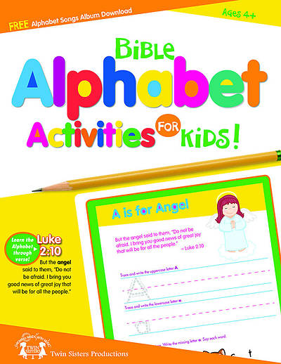 Bible Alphabet Activities for Kids!